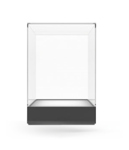 Fabrication vitrines PMMA sur mesure