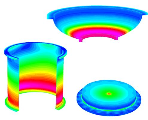 Etude ingenierie cuve acrylique PMMA plexi