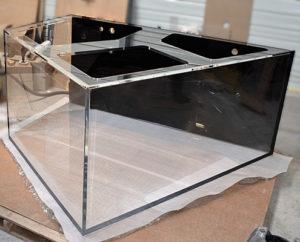 Aquarium Acrylique en Plexiglass sur mesure 2500 litres