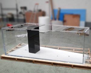 Cuve acrylique Trapeze en PMMA 1900 litres