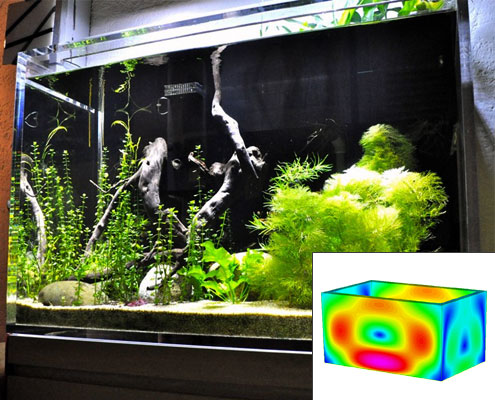 Aquarium Acrylique en PMMA Plexiglas